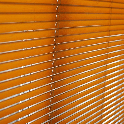 Doctor and Drawn Blinds