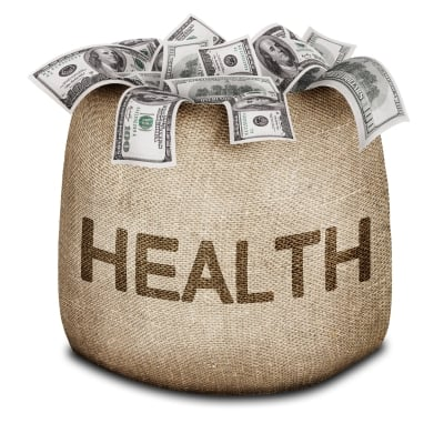 Health Money Bag