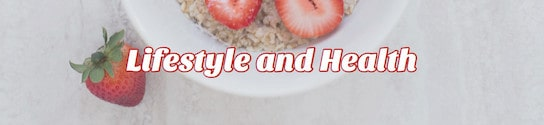 Lifestyle and Health Header