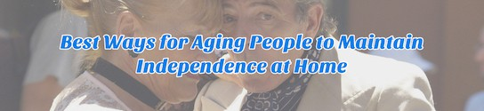 Independent Aging People