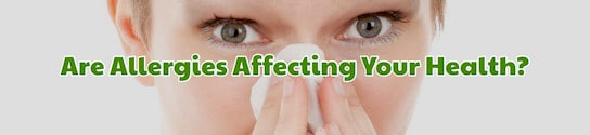 Allergies affecting Your Health