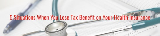 Losing Tax Benefit on Health Insurance