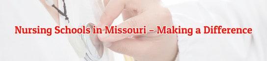 Nursing Schools in Missouri Header