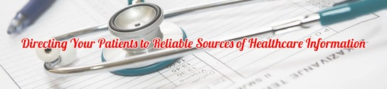 Reliable Sources of Healthcare Information